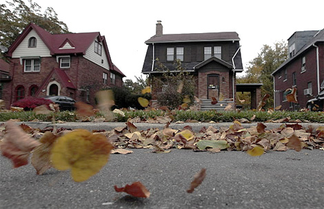 Imagen de una casa deshabitada en la ciudad de Detroit. | Reuters