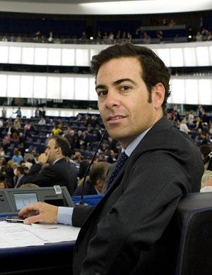 El eurodiputado Zalba.