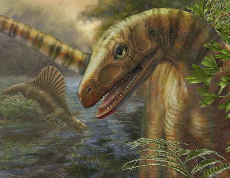 Reconstrucción del 'Asilisaurus kongwe'. | M.H. Donnelly