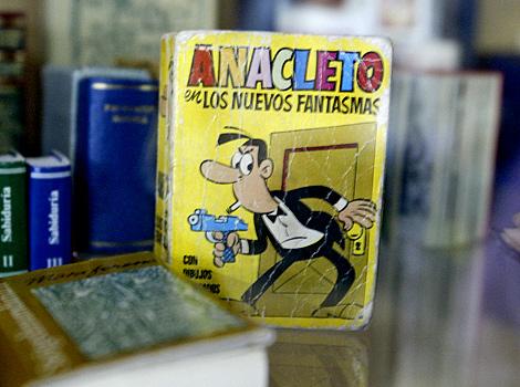 Anacleto, agente secreto, personaje creado por Vázquez. | Antonio Heredia