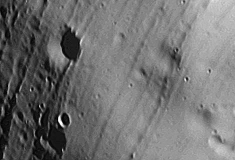 La superficie de Fobos. | ESA
