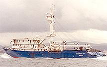 El 'Intertuna II' .   Albacora