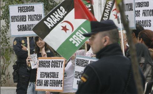 Se esperan manifestaciones a favor de los presos saharauis en Granada. | Madero Cubero