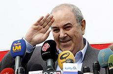 Iyad Alawi, de Movimiento Nacional.   Efe
