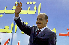 J. Al Balani, actual ministro de Interior.   Afp