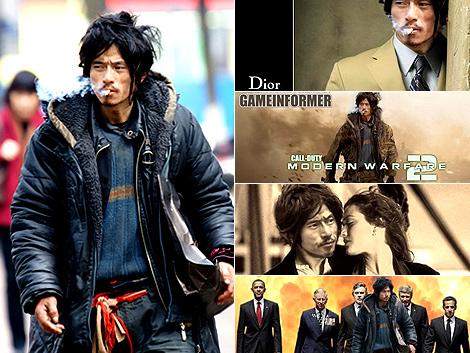 Xili Bro y varios de los montajes que se han hecho con su imagen. | El Mundo.es