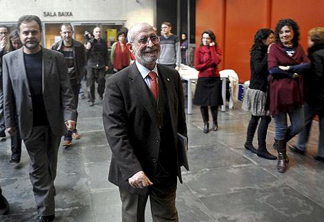Román de la Calle, tras dimitir como director del MuVIM. | Foto: Efe