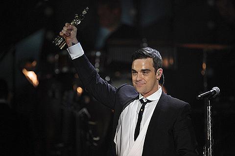 El cantante en los premios Echo, Berlín. | Foto: Efe