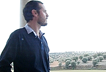 Un olivar, el paisaje del que disfruta.