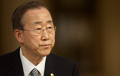 El secretario general de la ONU, Ban Ki-moon. | Efe