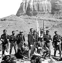 Escena de 'Fort Apache'