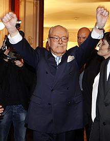 Le Pen, victorioso. | Reuters