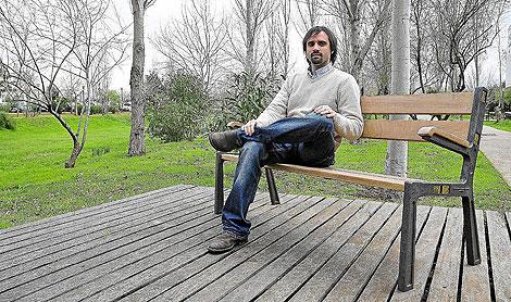 Ramon Pujol de la empresa Tecnología Solar Concentradora SL, incubada en el ParcBit   Alb