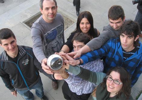 El equipo de universitarios que desarrolla el ingenio.| UPC