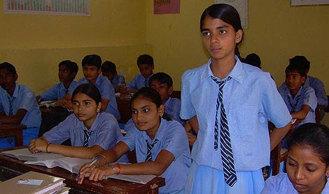 La mayoría de las niñas deja la escuela a los 12 años. | M. A. Gayo