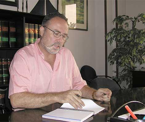 Eduardo Tamayo, en una imagen de 2003. (EM)