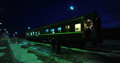 Juan Carlos Castresana en la frontera con Mongolia. | JCC