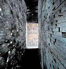 Reconstrucción de la Muralla Nazarí en el Albaicín de Granada por el estudio de Jiménez Torrecillas. | Efe