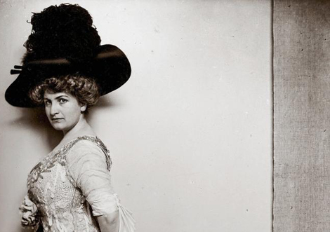 Alma Mahler, en 1909.