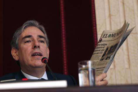 Fernández Galiano durante su intervención. | Jesús Domínguez