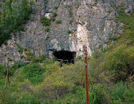 Entrada de la Cueva Denisova, al sur de Siberia.| Krause |Nature