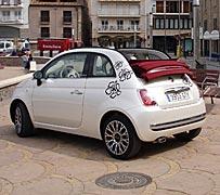 El top less del Fiat 500