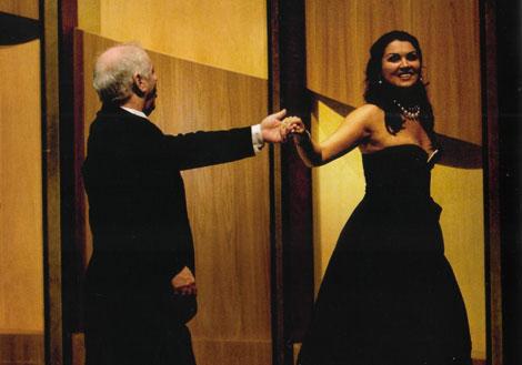Daniel Barenboim y Ana Netrebko. |ELMUNDO.es