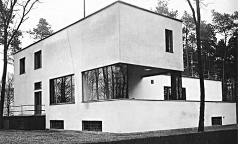 Complejo de dos viviendas donde vivió Gropius y su colega Laszlo Moholy-Nagy.   ELMUNDO.es
