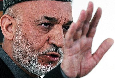 El presidente afgano, Hamid Karzai. | Afp