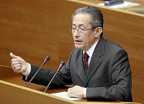 Ángel Luna, portavoz socialista en las Cortes Valencianas | Benito Pajares