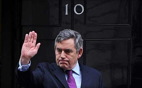 Fotografía de archivo del primer ministro británico Gordon Brown.   Efe
