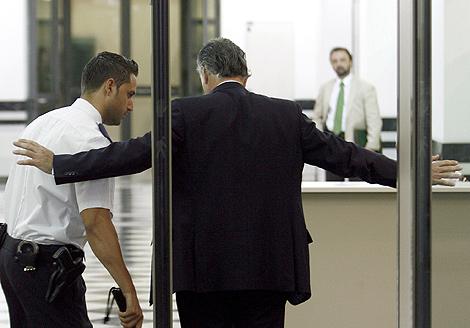 Luios Bárcenas, a la entrada del Tribunal Supremo. | Alberto Di Lolli