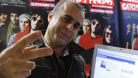 El director kurdo iraní en el encuentro digital. El Mundo