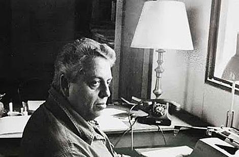 El escritor mexicano Jorge Ibargüengoitia