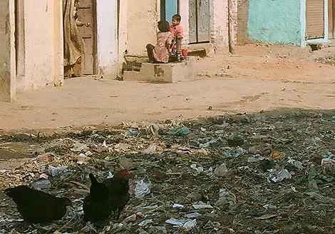 La falta de alcantarillado agrava los problemas de la población. | M.A Gayo