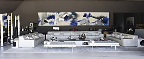Salón comedor de la espectacular vivienda. | ELMUNDO.es