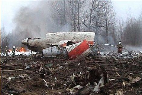 Fotograma del avión sinistrado. | Afp