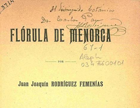 Un ejemplar de la obra de Barceló Combis.