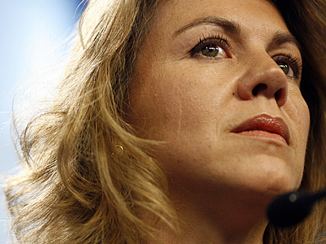Mª Dolores de Cospedal, secretaria general del PP. | A. Heredia