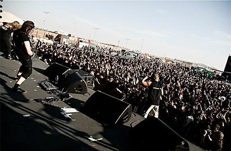 Un momento del Festival del Desierto,recientemente celebrado en Dubai. | Desert Rock Festival