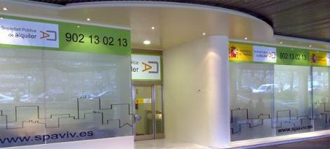 Oficinas de la Sociedad Pública de Alquiler en el Paseo de la Castellana.   ELMUNDO.es