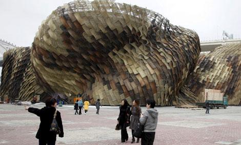 Pabellón de España en la Expo de Shanghái. | Q. Shen