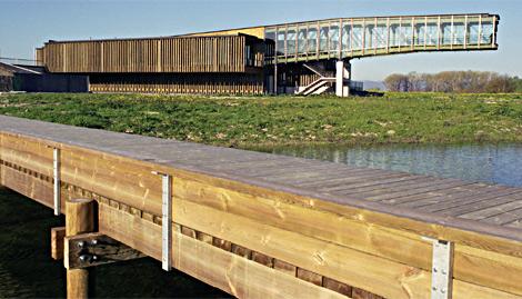 Ataria. Centro de interpretación de la naturaleza de salburúa en Vitoria (Álava). | ELMUNDO.es