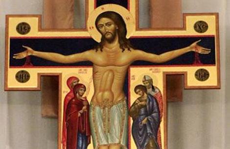 El crucifijo en cuestión.   www.newsok.com