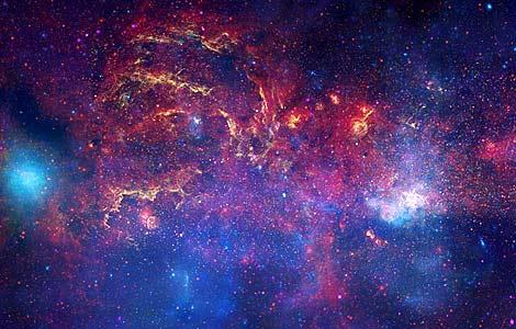 Imagen del centro de la Vía Láctea captada por el telescopio espacial Hubble. | AP | NASA