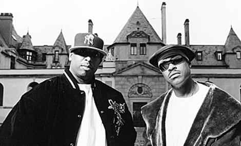 Guru, a la derecha, junto a DJ Premier, su media naranja en Gang Starr.