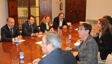 Imagen de la reunión del sector ayer en Palma. | Pep Vicens
