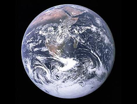 La Tierra retratada en la misión 'Apolo 17'. | Foto: NASA