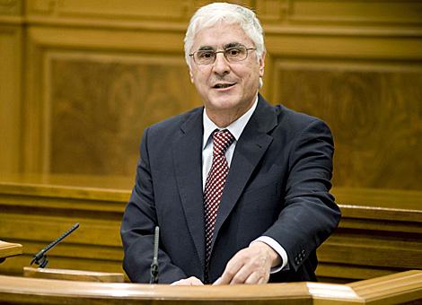 El presidente de Castilla-La Mancha, José María Barreda, durante su intervención. | Efe