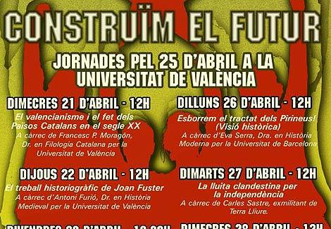 Cartel de las jornadas de conferencias organizadas por el SEPC. | www.sepc.cat